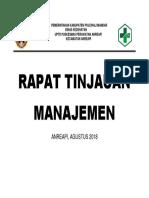Rapat Tinjauan Manajemen 2x1,5