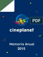 Memoria Anual Cineplex 2015