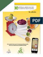 Sistema Mexicano de Alimentos Equivalentes (4a Ed, 2014) (1)