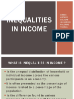 Inequalities in Income 2