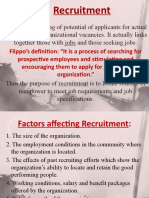 Recruitment & Selection Process