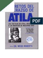 Los Secretos Del Liderazgo de Atila