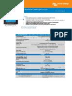 Datasheet BlueSolar PWM Light Charge Controllers 12 24V ES
