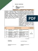 3. Analisis Kompetensi pengelolaan bisnis ritel