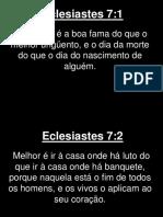 Eclesiastes - 007