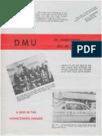 DMU Homecoming 1963
