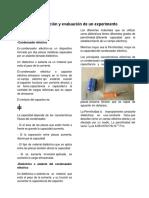 Proyecto Investigación Capacitor