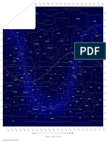 Constellations Map Equ11012