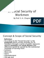 2. Social Security of Workmen (1)