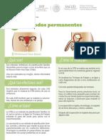 Métodos anticonceptivos permantentes