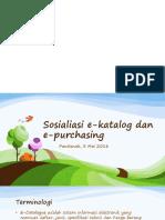 Epurchasing Ekatalog