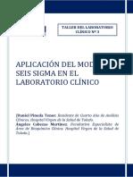 Aplicación Del Modelo Seis Sigma en El Laboratorio Clínico