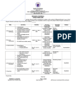 Be Form 2 - School Work Plan