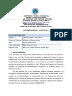 Informe Final Agosto