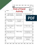 Find a Friend Who