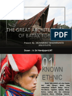 10. Great Architecture of Batak Toba