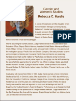Judge Rebecca Hardie Biography
