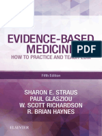 Evidence-based Medicine - How to Practice and Teach Ebm - Fifth Edition