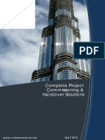 Complete Project Commissioning & Handover Solutions