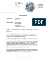 100918 Yuba County District Attorney - Cascade fire investigation