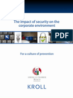 Amcham-kroll 2009-2010 Survey on the Impact of Security on the Corporate Environment in Mexico