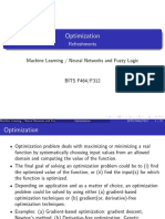 Optimization in Neural Network