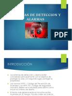 Sistema de Alarmas y Detección