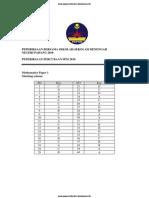 SPM Trial 2010 Math Ans (Pahang)