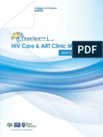 TenaCare_EMR HIVCare  ART Module User's Manual_final.docx