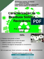 AULA 3 - CARACTERIZAÇÃO DE RESÍDUOS SÓLIDOS RECICLÁVEIS (1).pdf