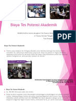 Biaya Tes Potensi Akademik / Fast Respon / 0822-3651-2343