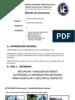 Ciraco - Método de Proyectos - Fase 1
