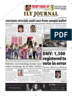 San Mateo Daily Journal 10-10-18 Edition