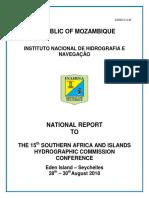 SAIHC 2018 National Report Mozambique