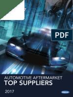 2017 AASA Top Automotive Aftermarket Suppliers List