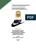 Nike , una estrategia