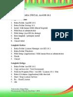 Cara Instal Arcgis 10.1