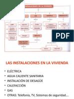 Instalaciones en Vivenda