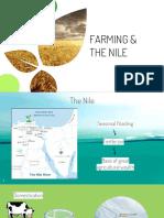 farming and the nile