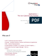 Applications - The New Cyber Security Frontier