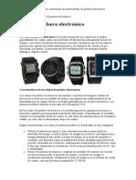 Relojes de pulsera electrónicos.doc