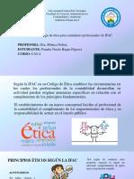 1.2 Código de Ética Para Contadores Profesionales de IFAC