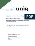 Trabajo Proyecto Creativo Unir