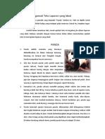 Tugas 3 Mengamati Teks Laporan Yang Ideal