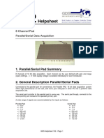 102 - Hardware - 8 Channel Pad - Parallel and Serial Data Acquisition