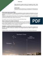 micro tutorial - astronomy