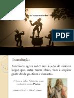 Aula Sobre Platão