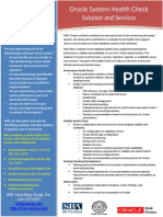 anroraclehealthcheckbrochure-140126153612-phpapp02