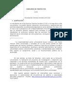 Bases Concurso Incentivo a La RS 2010 - CF Ciencias Sociales