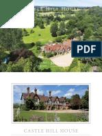 Castle Hill House Brochure